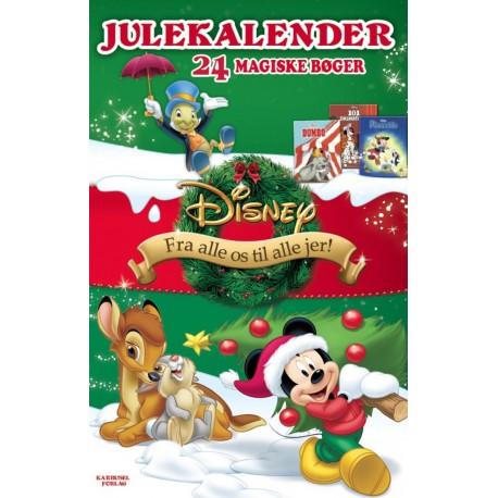 Disney julekalender med 24 magiske bøger