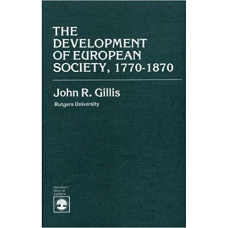 The development of europen society, 1770-1870