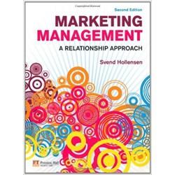 Marketing management a relationship approach