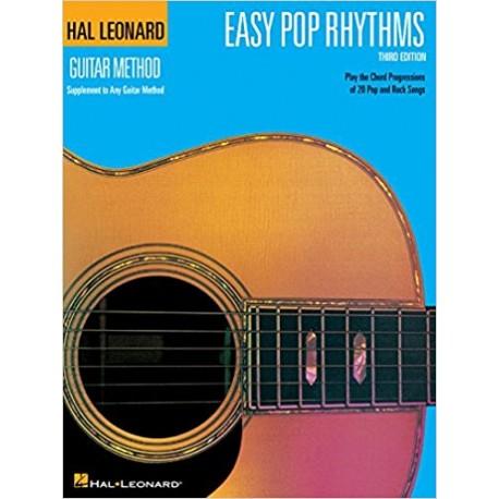 Easy Pop Rhythms: Correlates with Book 1 (Hal Leonard Guitar Method (Songbooks)