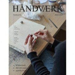 HÅNDVÆRK bookazine - dekoration (dansk udgave)