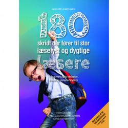 180 skridt der fører til stor læselyst og dygtige læsere: - Og giver faglig inklusion, trivsel og mønsterbrydere