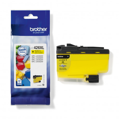 Brother LC426XLY ink cartridge yellow 5K (LC426XLY)