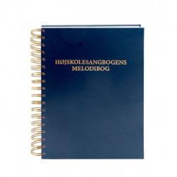 Højskolesangbogens melodibog med spiralryg: Klaverarrangementer til sangene i Højskolesangbogens 19. udgave