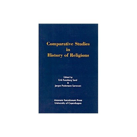 Comparative studies in history of religions: Their aim, scope, and validity