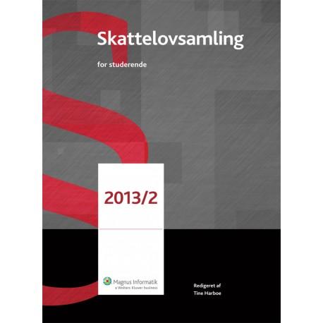 Skattelovsamling for Studerende(2013-2)