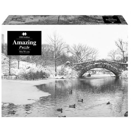 Amazing Puzzle - Amazing Winterlake