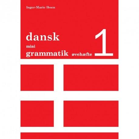 Dansk mini grammatik, Øvehæfte 1 (Bind 1)