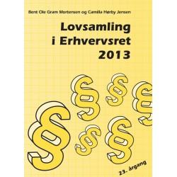 Lovsamling i erhvervsret(2013 (23. årgang)) - [RODEKASSE/DEFEKT]