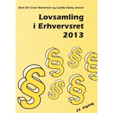 Lovsamling i erhvervsret(2013 (23. årgang))