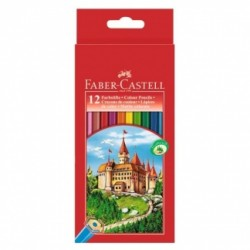 Faber Castell Farveblyanter 12 stk
