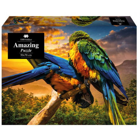 Amazing Puzzle - Papegøje