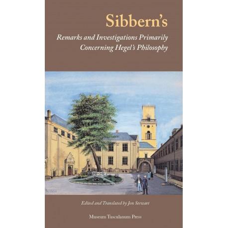 Sibbern's Remarks and Investigations Primarily Concerning Hegel's Philosophy