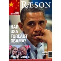 Ræson nr. 2, 2010, Har USA forladt Obama