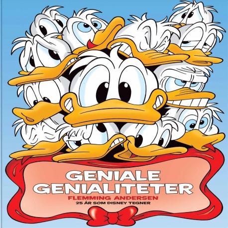 Geniale genialiteter: Flemming Andersen 25 år som Disney Tegner