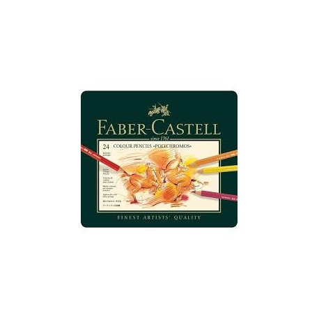 Faber-Castell Polychromos farveblyanter 24 stk