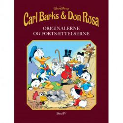 Carl Barks & Don Rosa Bind IV: ORIGINALERNE OG FORTSÆTTELSERNE