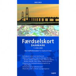 Færdselskort Danmark 2022-2023