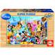 Educa Puzzle - 100 Brikker - The wonderful world of Disney
