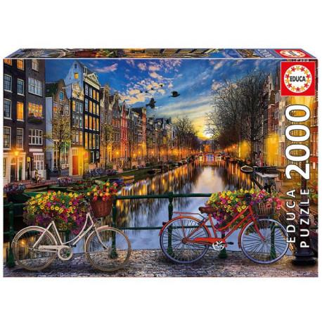 Educa Puzzle - 2000 Brikker - Amsterdam