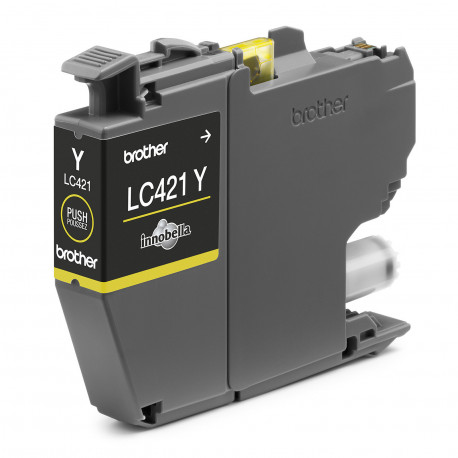 Brother LC421Y Yellow Ink cartridge (LC421Y)