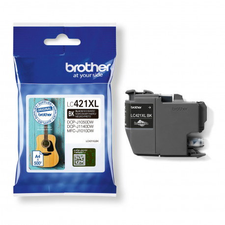 Brother LC421XLBK Black ink cartridge XL (LC421XLBK)