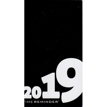 MÅNEDSKALENDER 2019