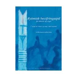 """Rytmisk becifringsspil for klaver og orgel: 17 sange fra """"Salmer og sange i skole og kirke"""""""