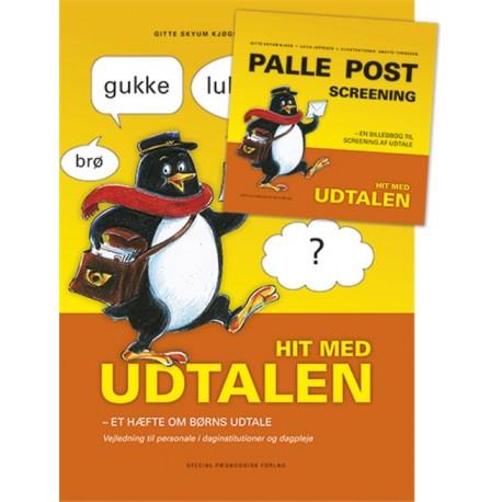 Palle Post - screening: en billedbog til screening af udtale - hit med udtalen