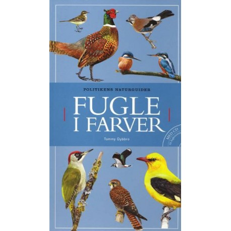 Fugle i farver - Inkl. Cd med fuglestemmer