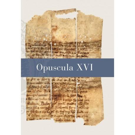 Opuscula XVI