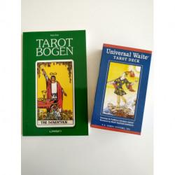 Begyndere Tarot sæt (DK bog + ENG. kort)