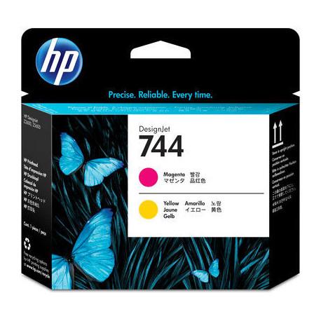 HP 744 Magenta &Yellow DesignJet Printhead (F9J87A)