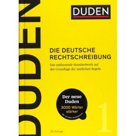 Duden (1) - Die deutsche Rechtschreibung
