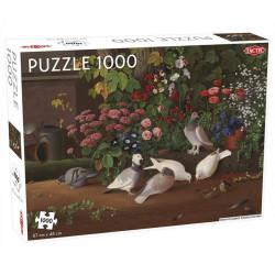 Puslespil - Flowers and Birds - 1000 Brikker