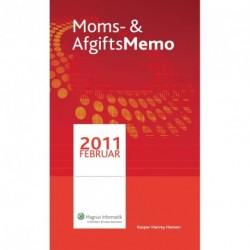 Moms & AfgiftsMemo: Februar 2011