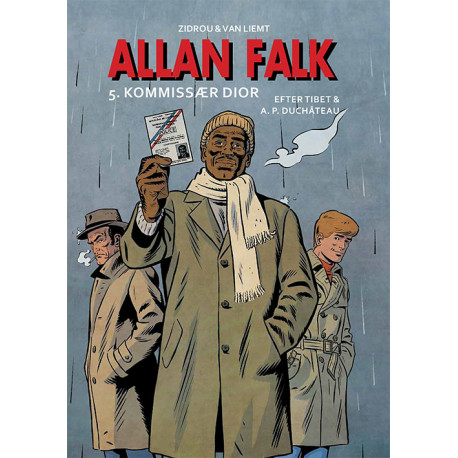 Allan Falk 5: Kommissær Dior