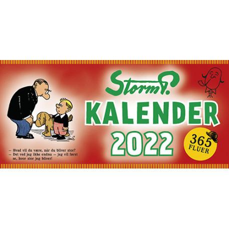 Storm P. - Kalender 2022 - 365 fluer