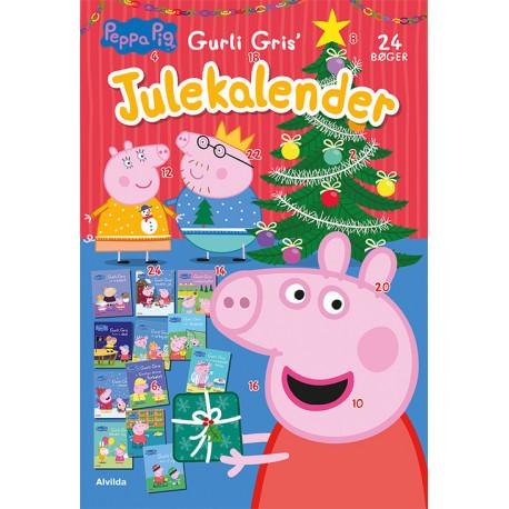 Peppa Pig - Gurli Gris' julekalender - med 24 billedbøger
