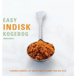 Easy indisk kogebog: trin-for-trin vejledning i at lave indisk mad hjemme