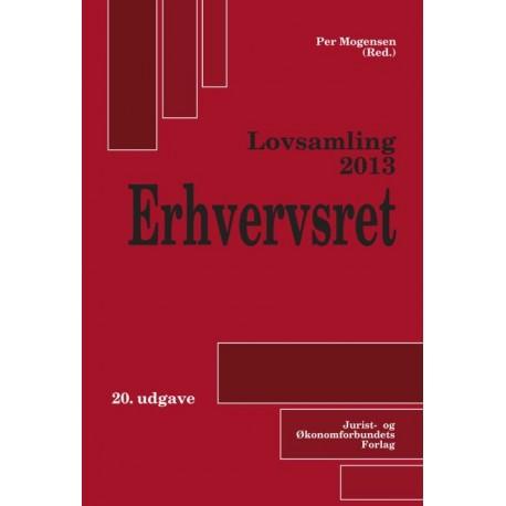 Lovsamling ., erhvervsret (2013 (20. udgave)) - [RODEKASSE/DEFEKT]