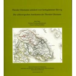 Theodor Gliemanns amtskort over hertugdømmet Slesvig