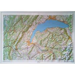 Haut-Jura - Leman Relief