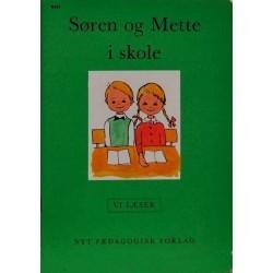 Søren og Mette i skole