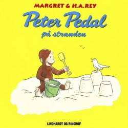 Peter Pedal på stranden