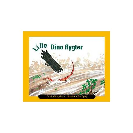 Lille Dino flygter