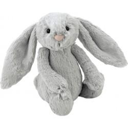 Jellycat  Bashful Silver Bunny Really Really Big
