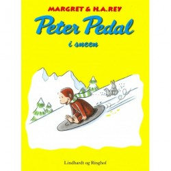Peter Pedal i sneen