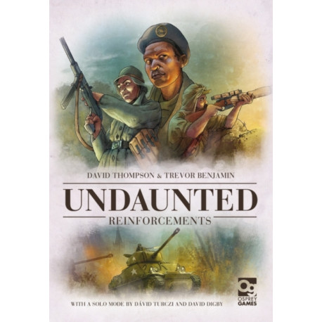 Undaunted: Reinforcements: Expansion to the Board Game Geek Award-Winning WWII Deckbuilding Game