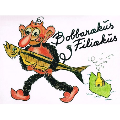 Bobbarækus Filiækus: med Krølle-Bølle rundt på Bornholm